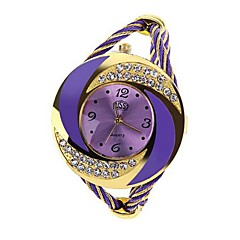 Women's Watch Bracelet Whirlwind Circle Style Gold Alloy (Assorted Color) Cool Watches Unique Watches