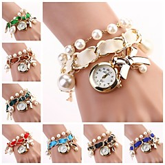 Women Hang Bow Bracelet Watch New Pearl Series  Watches(Assorted Colors) C&D-118 Cool Watches Unique Watches