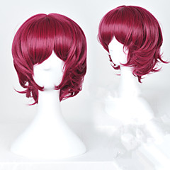 Yona of the Dawn Yona Wine Red Short Cosplay Wig