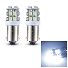 Merdia BA9S 0.5W 45LM 20x1206SMD LED White Light Reading Light/License Plate Lamp/Side light (12V / Pair)