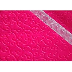 FOUR-C Fondant Rolling Pin Cup Cake Top Decoration Color Transparent, 1PCS