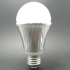 A60 E27 5.5W LED 10X5730SMD 460LM 6000K Microwave Radar Motion Sensor Automatic Swicth Light Bulb(AC85-265V)