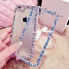 Style diamant/Diamant / strass Décoré Case - Etuis ornés de bijoux - pour iPhone 5/iPhone 5S ( Blanc/Bleu/Rose/Pourpre , ABS )