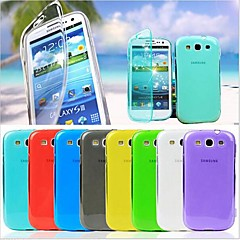BIG D Touch View TPU Full Body Case for Samsung Galaxy S3 I9300(Assorted Colors)
