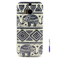 HTC One(M8) - TPU - 뒷면 커버 - 그래픽/특별 디자인 - 케이스 커버