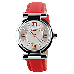SKMEI® Women's Luxury Classic Leather Quartz Watch Cool Watches Unique Watches