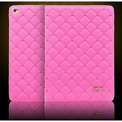 Couvertures intelligents/Cas Folio ( Cuir PU , Noir/Blanc/Incarnadin/Rose ) - Couleur unie pour Pomme iPad mini/mini-iPad 2/mini iPad 3