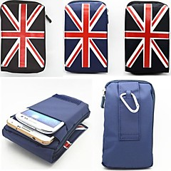 British Flag Pattern Multi-Function Mountaineering Bag Pouches for Samsung S5 I9600 Galaxy Note 4 (Assorted Colors)