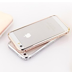 iPhone 5/5S iPhone - Cornice antiurto - per Cristalli ( Oro/Argento , Metallo )