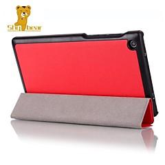 """caso estande capa de couro tímido urso ™ para guia Lenovo 2 a7-30 7 """"cores tablet"""
