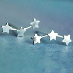 Earring Ear Cuffs Jewelry Women Wedding / Party / Daily / Casual Silver / Sterling Silver 2pcs