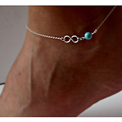 Bow Turquoise Anklet Party/Daily/Casual (1PC)