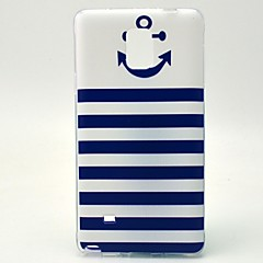 For Samsung Galaxy Note Mønster Etui Bagcover Etui Anker TPU Samsung Note 4