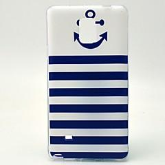 Για Samsung Galaxy Note Με σχέδια tok Πίσω Κάλυμμα tok Άγκυρα TPU Samsung Note 4