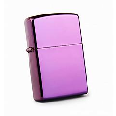 豪華な紫色の鮮やかなクロームは灯油ライターメッキ