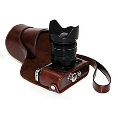 Dengpin PU Leather Oil Skin Detachable Camera Cover Case Bag for Fujifilm X-E2 X-E1 (Assorted Colors)