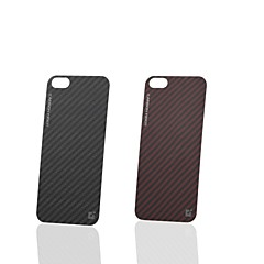 "CDN ""Carbon Fiber"" Kevlar Fiber Decorative Back Skin for iPhone 5/5S"