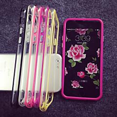 Voor iPhone 8 iPhone 8 Plus iPhone 7 iPhone 7 Plus iPhone 6 iPhone 6 Plus iPhone 5 hoesje Hoesje cover Transparant Bumper hoesje Effen