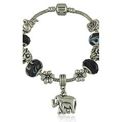 Βραχιόλια Strand Μοναδικό Μοντέρνα Χάντρες Animal Shape Κοσμήματα Ελέφαντας Μαύρο Κοσμήματα Για Πάρτι 1pc