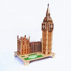 DIY elizabeth tårn formet 3d puslespil