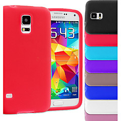 BIG D Silica Gel Soft Case for Samsung Galaxy S5 I9600(Assorted Colors)