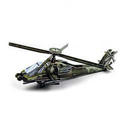 DIY helikopter formet 3d puslespil