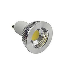 6W GU10 LED Spot Işıkları 1 COB 1100 lm Sıcak Beyaz / Serin Beyaz AC 220-240 V 1 parça