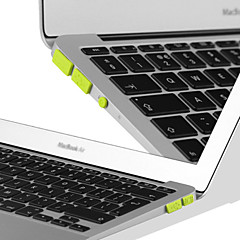 "anti-støv plugg kit for apple macbook pro retina 13,3 ""/ 15,4"" (assorterte farger)"
