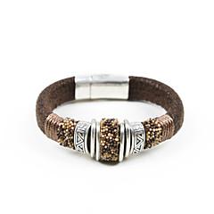 Vintage Beaded With Thread Wrapped Velvet Bracelet