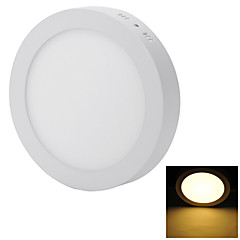 Direct Install 18W 1600lm 6000/3000K 90-SMD 2835 LED Cool/Warm White Panel Ceiling Light (AC 85~240V)