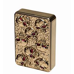 haut de gamme fin et doré petits squelettes recharge USB allume-