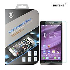 huyshe eenvoudig te installeren anti-kras waterdicht anti-fingerprint gehard glas screen protector asus zenfone2 5.5inch
