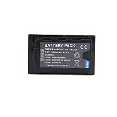 5800mah vw-vbd58 fullt dekodet videokamera batteri for panasonic aj-px270 aj-px298 aj-px298mc