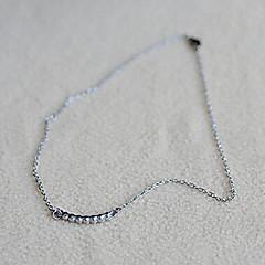 Smycken Choker-Halsband Dagligen Legering Dam Silver Wedding gåvor