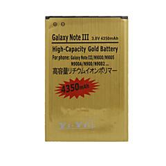 4350 - 삼성 - Samsung Galaxy Note 3 - 교체 용 배터리 - NOTE 3 - 아니요