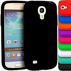 big d silikageeli pehmeä kotelo Samsung Galaxy S4 Mini i9190 (eri värejä)