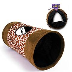 tunnel modello del leopardo per i gatti