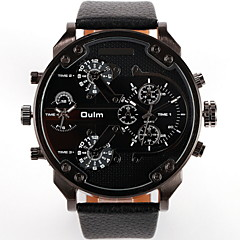 Men's Avtive Fashion PU Leather With Watches (Assorted Colors) Cool Watches Unique Watches