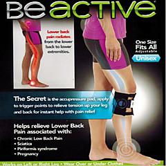 Beactive Pressure Point Brace Back Pain Acupressure Sciatic Nerve Be Active Elbow  Knee LEG Pads