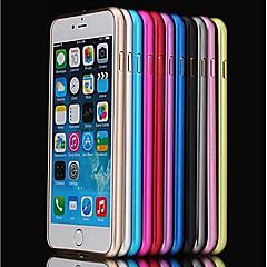 Kompatibilitás iPhone 8 iPhone 8 Plus iPhone 6 iPhone 6 Plus tokok Ütésálló Ultra-vékeny Védőkeret Case Tömör szín Kemény Fém mert Apple