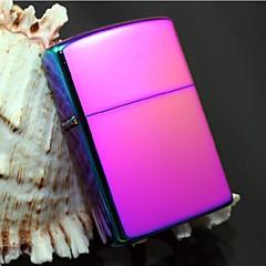 couleur exquise chrome brillant plaqué briquet à pétrole