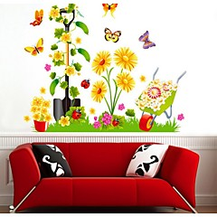 Three Dimensional Rural Pure and Fresh and Romantic Flower Vine Layer Upon Layer