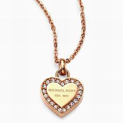 Romantic Heart-shaped Pendant Necklace