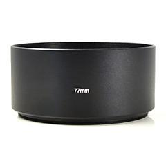 mengs® 77mm alumínium teleobjektív motorháztető Canon Nikon Sony fuji PENTAX Olympus etc digitális dslr fényképezőgép