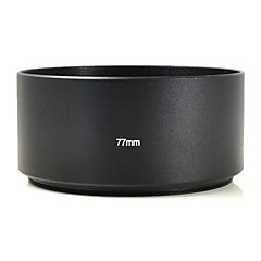 mengs® 77mm Aluminium Telesonnenblende für Canon Nikon Sony Pentax Olymp fuji etc digital camera