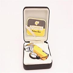 personnalité créatrice moulage cigares briquets spéciales de jaune noir