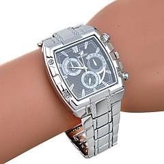 Men's Fashion Leisure Six Needles Silver Band Quartz Watch