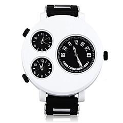 mannen gepersonaliseerde multifunctionele drie uurwerk horloge (verschillende kleuren)