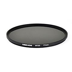 mengs® 77mm infrarouge 720nm filtre IR avec cadre en aluminium pour la caméra