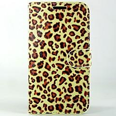 Varten Huawei kotelo Lomapkko / Korttikotelo / Tuella / Flip Etui Kokonaan peittävä Etui Leopardiprintti Kova Tekonahka Huawei Other